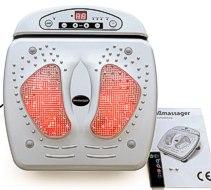 Reflex Fußreflexzonen m. Infrarot- Massagegerät-Fussmassage